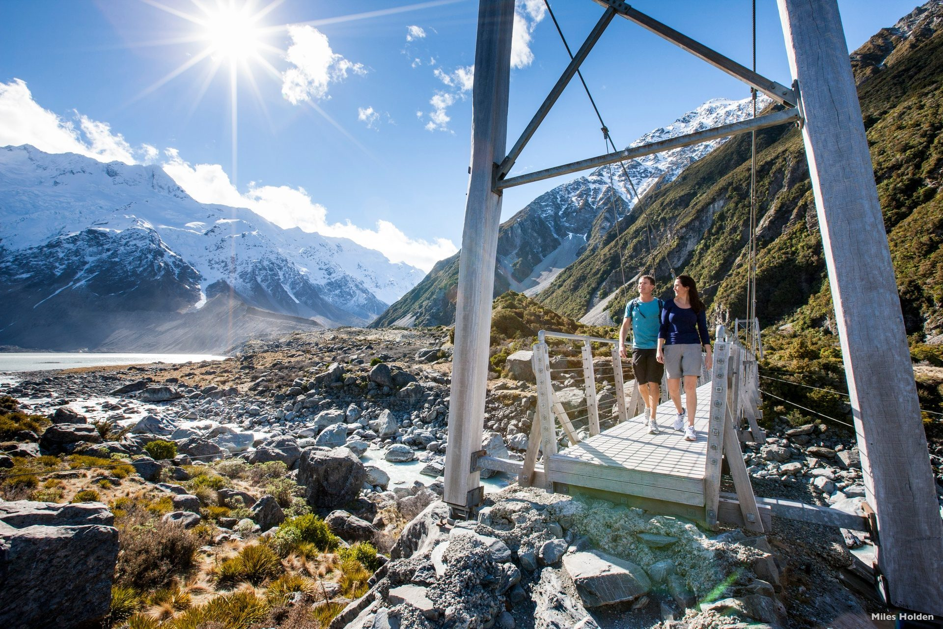 Hooker Valley Mt Cook - Luxury Touring - New Zealand
