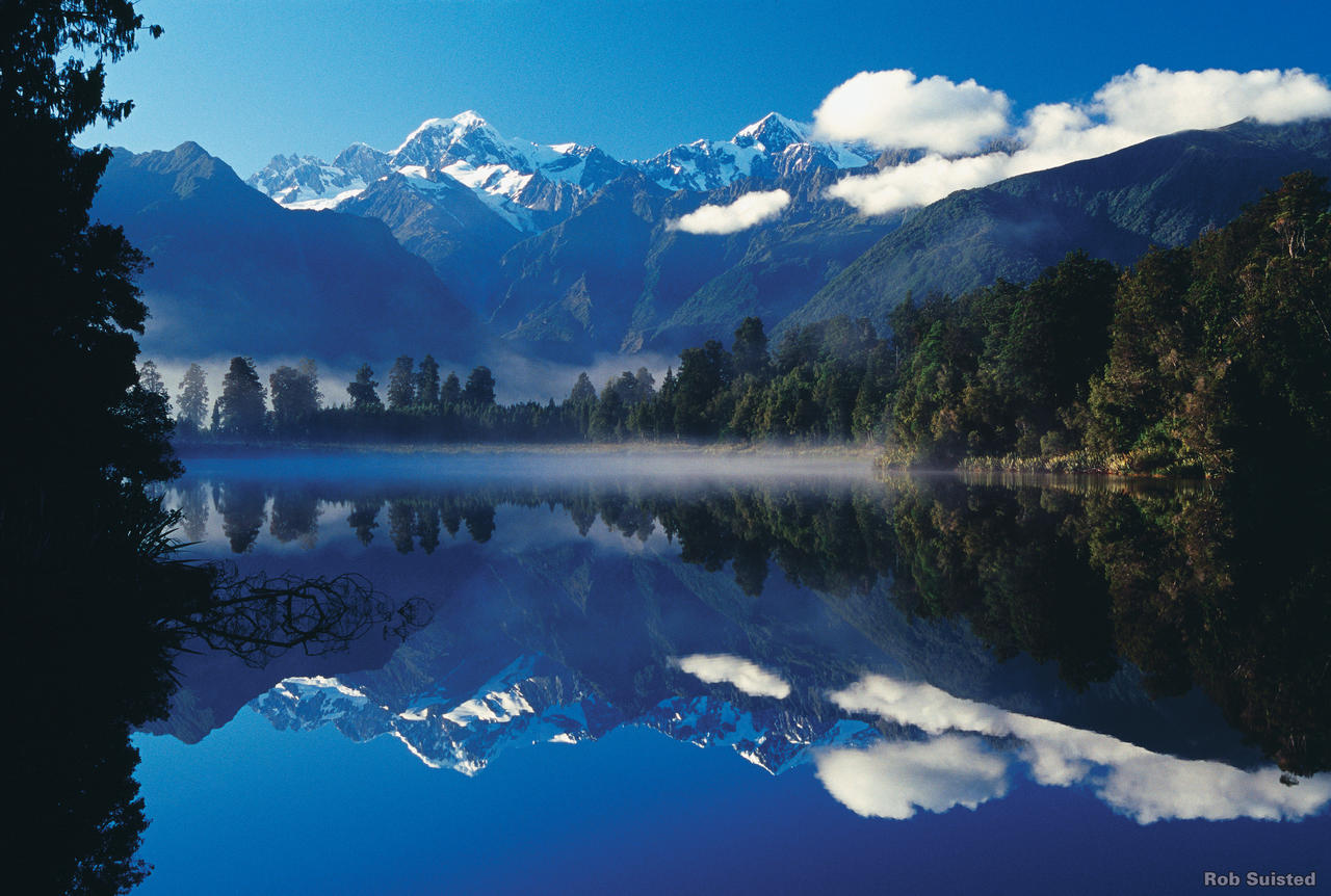 Lake Matheson - West Coast - Luxury Touring - New Zealand