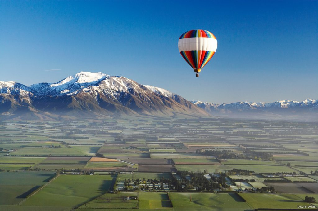 Canterbury - Hot Air Balloon - Luxury Touring New Zealand